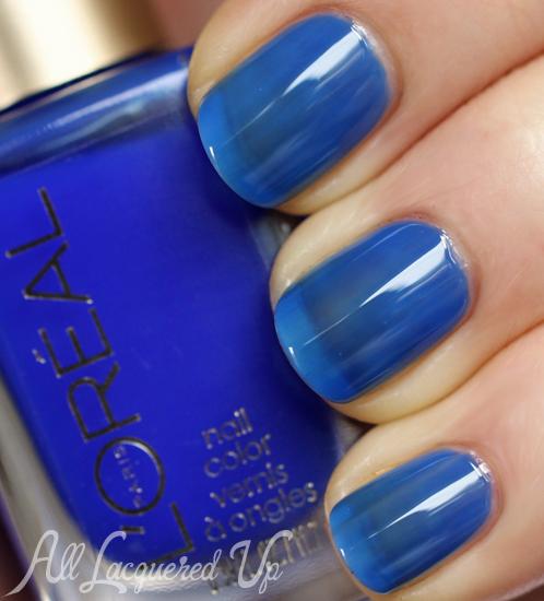 L'Oréal Paris Miss Pixie jelly nail polish swatch