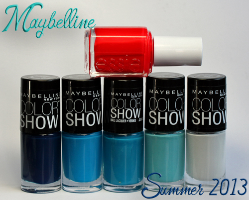 maybelline color show summer 2013 nail polish Getting Nauti with Maybelline Color Show Summer 2013 Nail Polish