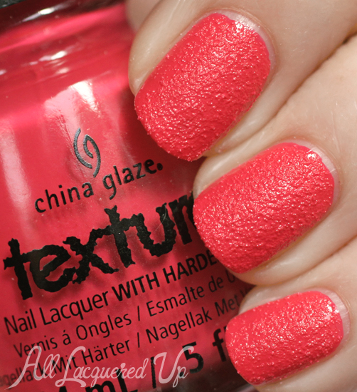 China Glaze Bump and Grind Texture nail polish swatch