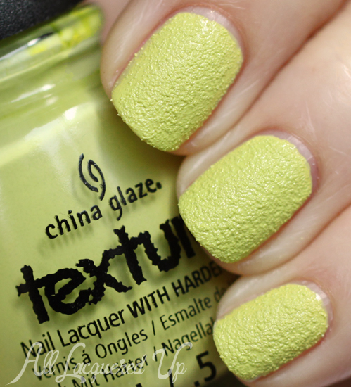 China Glaze In The Rough Texture nail polish swatch