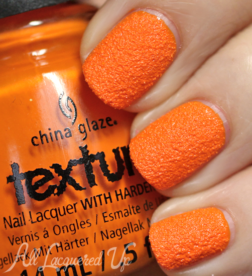 China Glaze Toe-Tally Textured Texture nail polish swatch