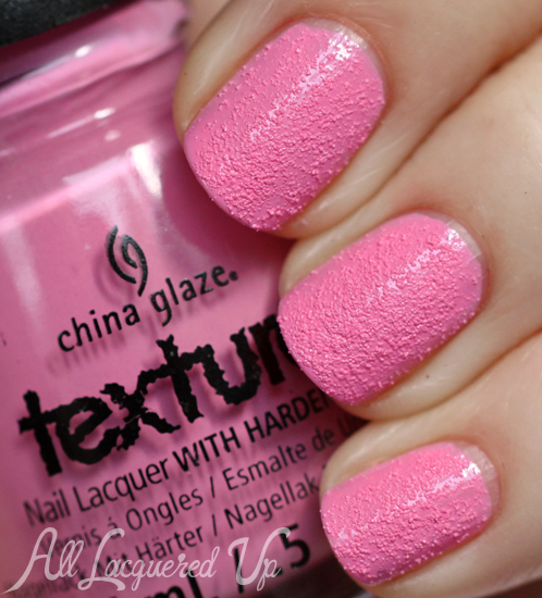 China Glaze Unrefined Texture Nail Polish Swatch