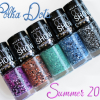 "Maybelline Color Show ""Polka Dots"" Glitter Nail Polish Swatches & Review"