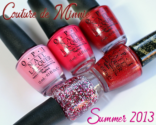 OPI Couture de Minnie nail polish collection