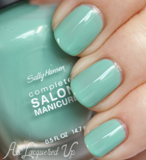 Sally Hansen Jaded nail polish swatch