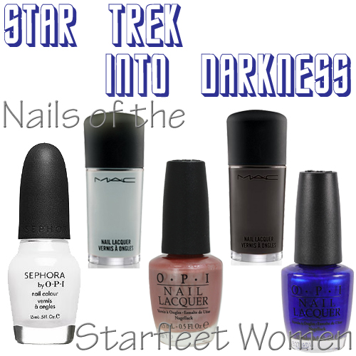 Star Trek Into Darkness Starfleet Women nail polish
