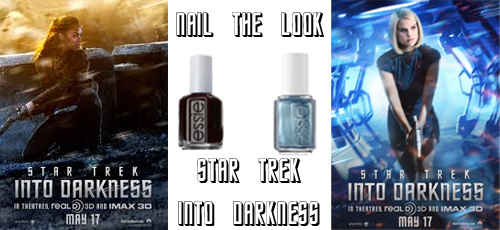 star trek into darkness nail polish uhura carol zoe alice eve Nail The Look   The Women of Star Trek Into Darkness