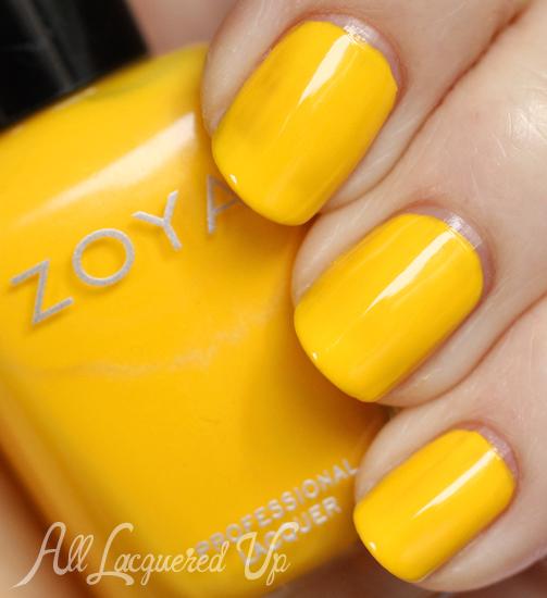 Zoya Darcy nail polish swatch