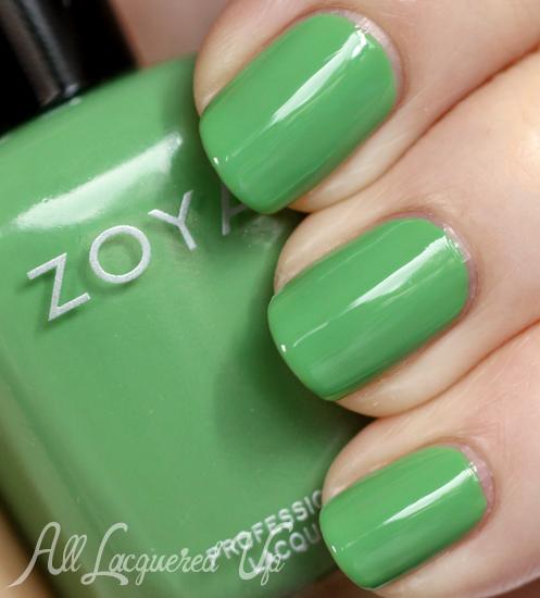 Zoya Josie nail polish swatch