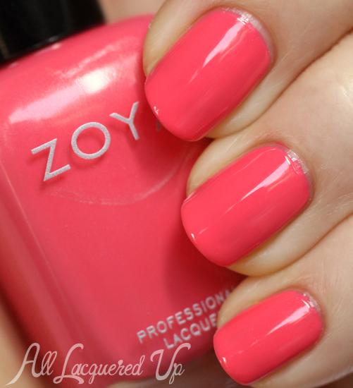 Zoya Micky nail polish swatch