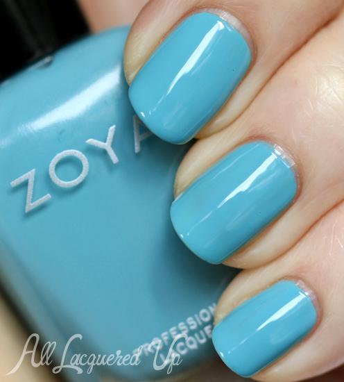 Zoya Rocky nail polish swatch