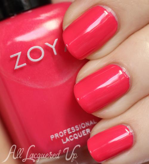 Zoya Yana nail polish swatch