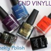 CND VINYLUX Weekly Nail Polish Review & Swatches