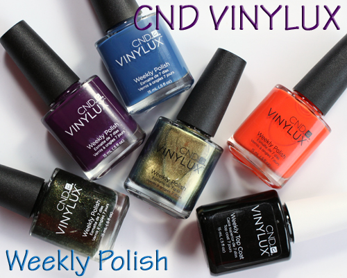 CND VINYLUX Weekly Nail Polish Review & Swatches : All Lacquered Up