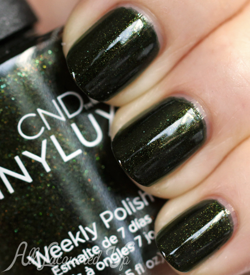 Cnd Vinylux Pretty Poison Nail Polish Swatch