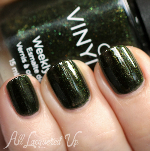 cnd vinylux pretty poison nail polish swatch CND VINYLUX Weekly Nail Polish Review & Swatches