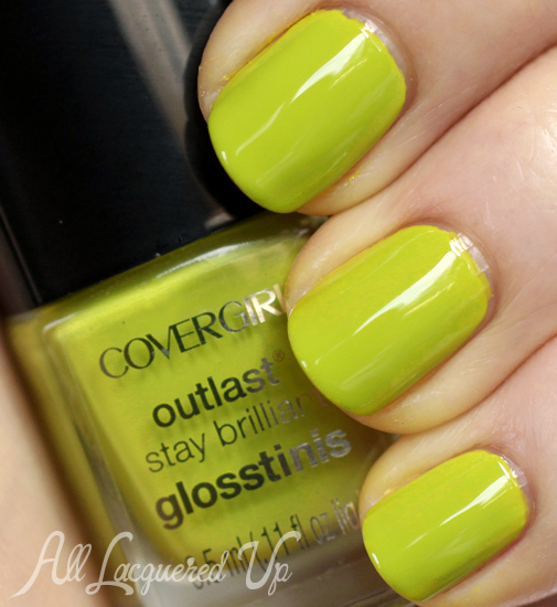 COVERGIRL Appletini Glosstinis nail polish swatch