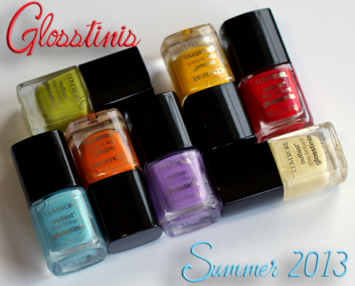COVERGIRL Outlast Glosstinis Nail Polish Swatches