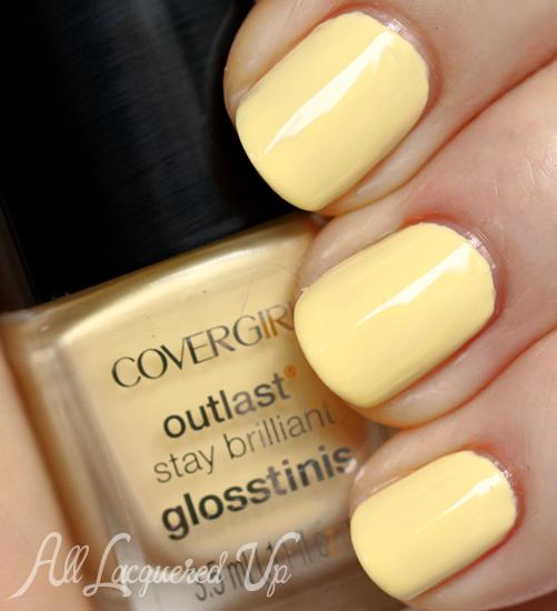 COVERGIRL Pina Colada Glosstinis nail polish swatch
