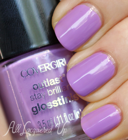 COVERGIRL Purple Freeze Glosstinis nail polish swatch