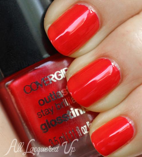 COVERGIRL Sangria Glosstinis nail polish swatch