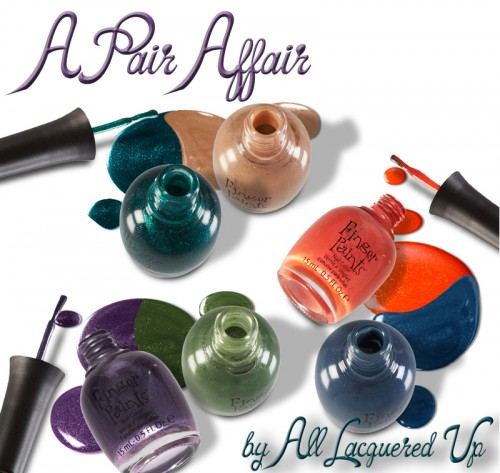 FingerPaints A Pair Affair by All Lacquered Up nail polish collection
