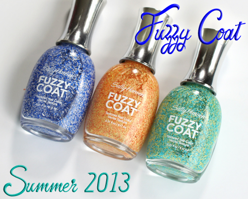 "Three Ways To Wear Sally Hansen ""Fuzzy Coat"" Nail Polishes ..."