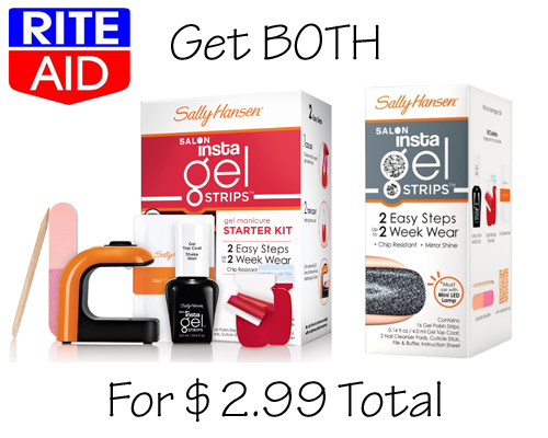 Sally Hansen Insta-Gel Strips Starter Kit deal