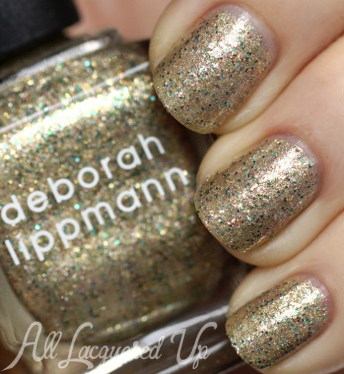 Deborah Lippmann Fake It Til You Make It nail polish swatch