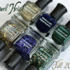 "Deborah Lippmann Fall 2013 ""Jewel Heist"" – Swatches & Review"