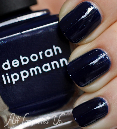Deborah Lippmann Rolling In The Deep nail polish swatch