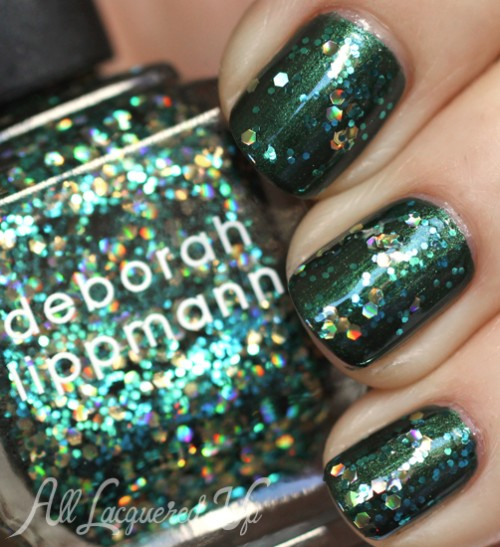 Deborah Lippmann Shake Your Money Maker glitter nail polish