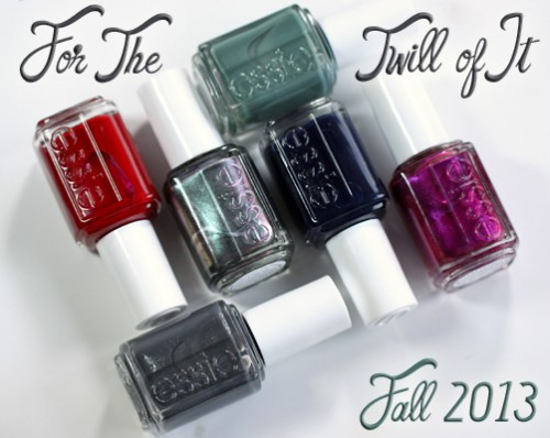 Essie Fall 2013 nail polish collection