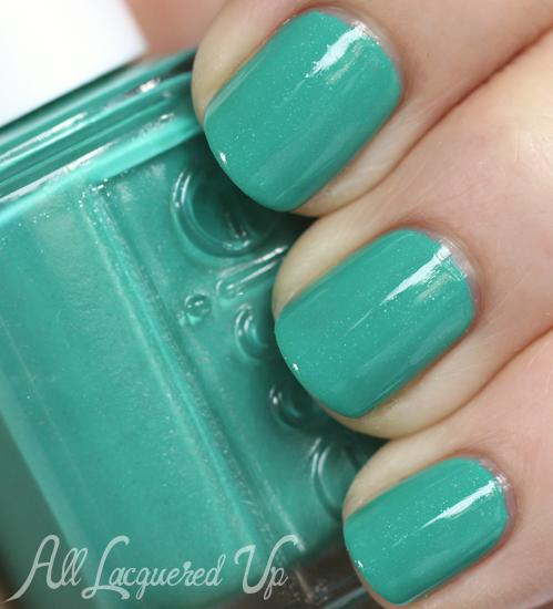 Essie Naughty Nautical nail polish swatch