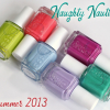 """Essie Summer 2013 """"Naughty Nautical"""" Swatches & Review"""