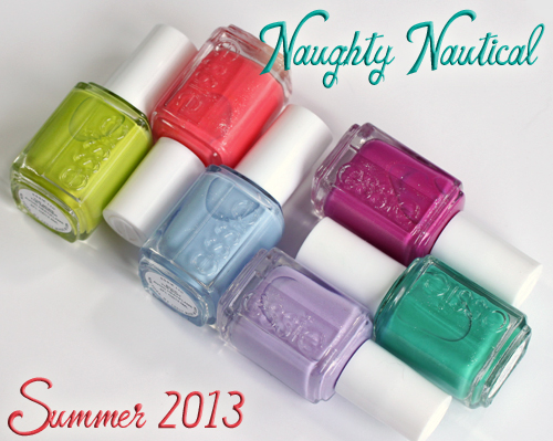 Essie Summer 2013 Naughty Nautical