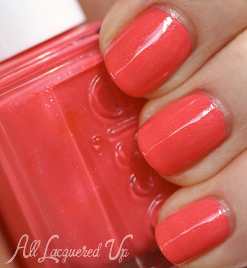 Essie Sunday Funday nail polish swatch