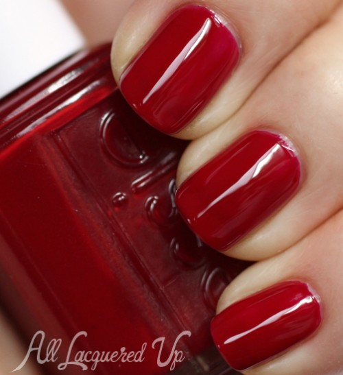 """Crimson Nail Polish: Essie Fall 2013 """"For The Twill Of It"""" Swatches & Review"""
