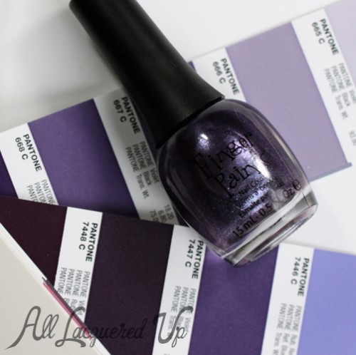 FingerPaints A Grape Catch nail polish bottle