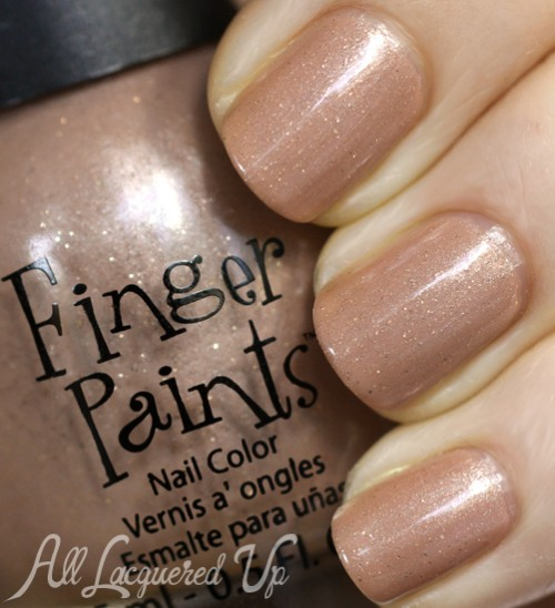FingerPaints Bare No Secrets nail polish swatch
