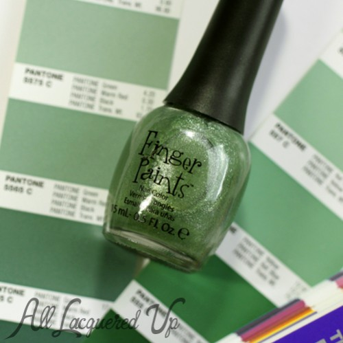 FingerPaints Sage It Aint So nail polish bottle