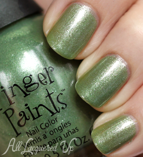 FingerPaints Sage It Ain't So nail polish from A Pair Affair by All Lacquered Up