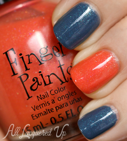 FingerPaints Sarong So Right and You Yacht To Know Better nail polish