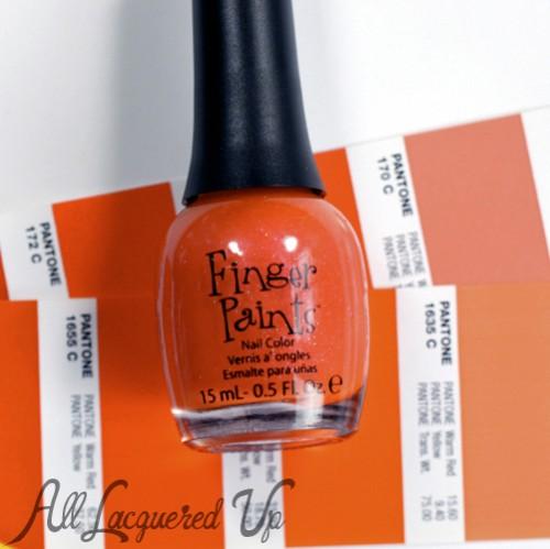 FingerPaints Sarong So Right nail polish bottle