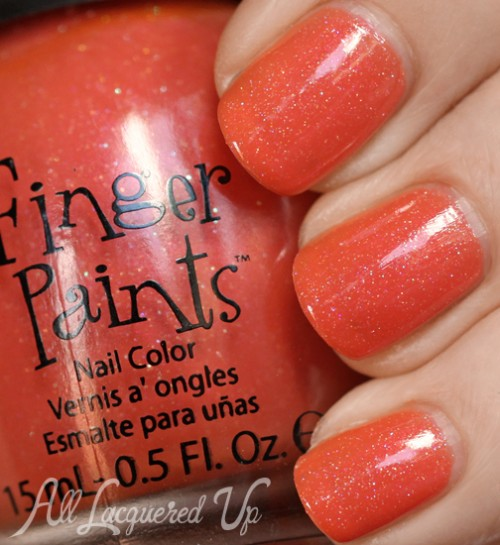 FingerPaints Sarong So Right nail polish swatch