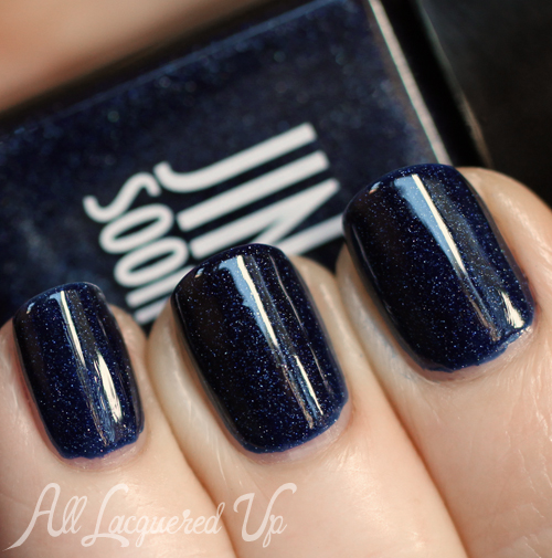 JINsoon Azurite nail polish swatch