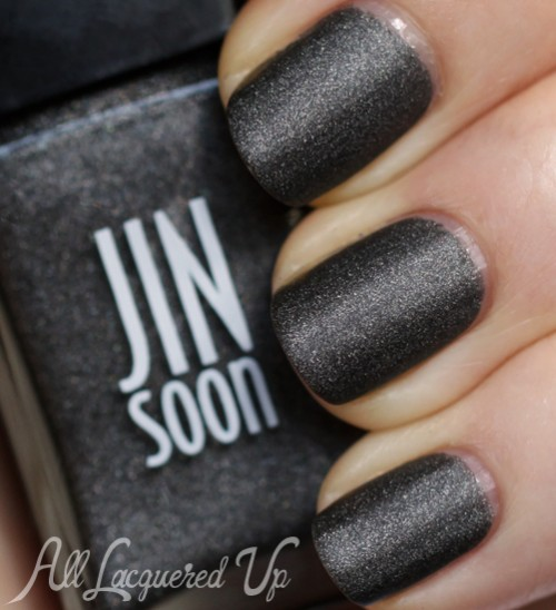 JINsoon Mica nail polish with Matte Maker