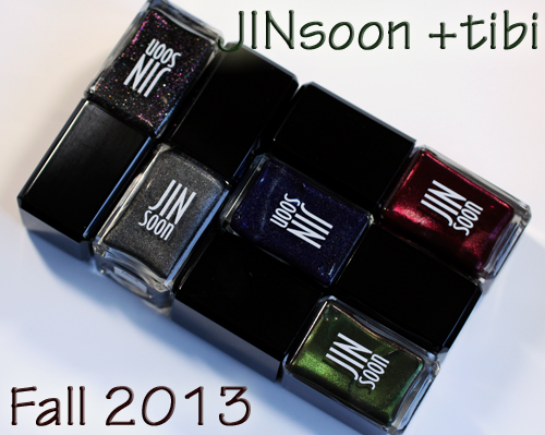 JINsoon Tibi Fall 2013 nail polish collection