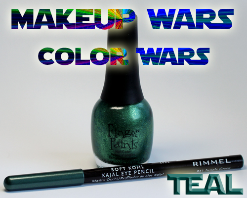 Makeup Wars: Color War - Teal