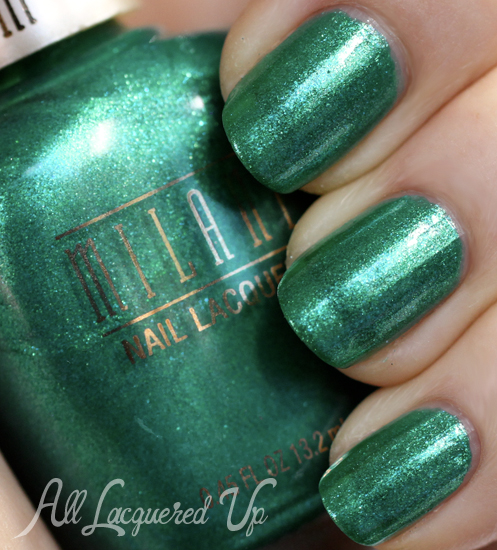 Milani Key West nail polish swatch